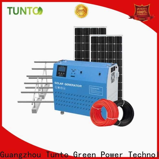portable portable solar power generator series for road