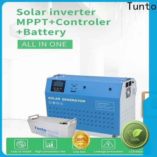 Tunto 5kw hybrid solar inverter from China for road