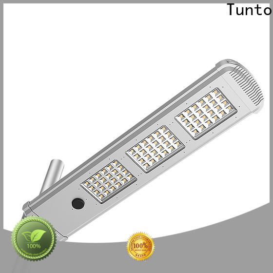 Tunto waterproof solar powered parking lot lights factory price for plaza