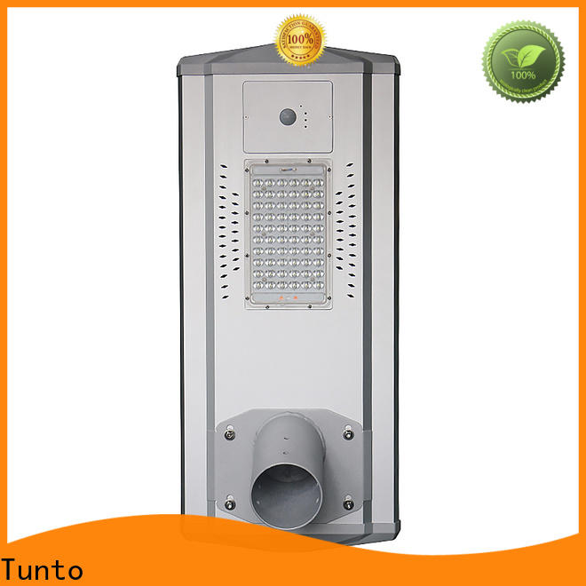 Tunto solar powered street lights wholesale for road