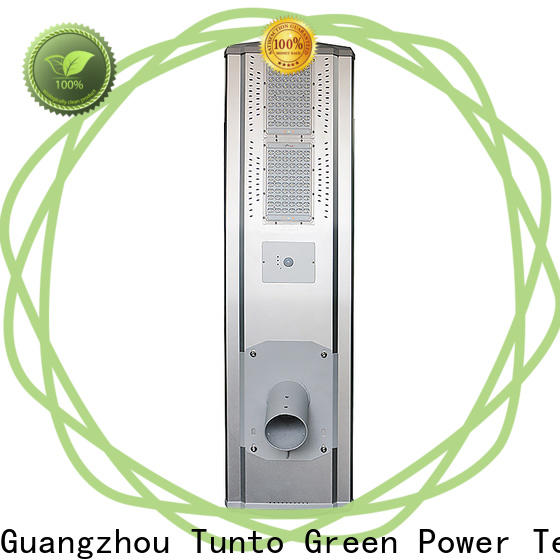Tunto solar powered parking lot lights wholesale for outdoor