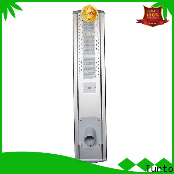 Tunto 4000lm all in one solar street light wholesale for outdoor