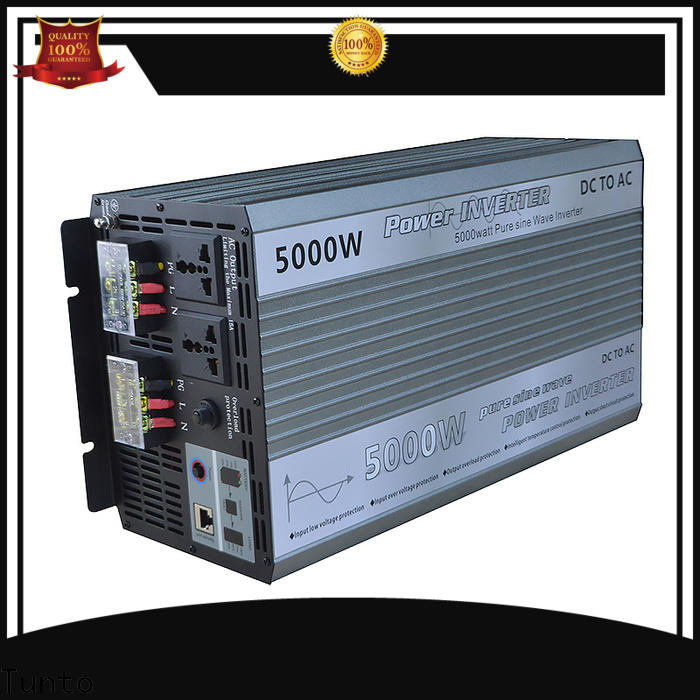 Tunto solar inverter system supplier for street lights