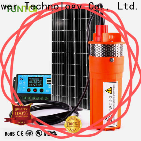 Tunto agriculture solar powered pump from China for irrigation