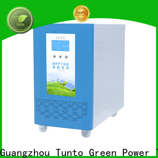 Tunto onboard hybrid solar inverter wholesale for street lights