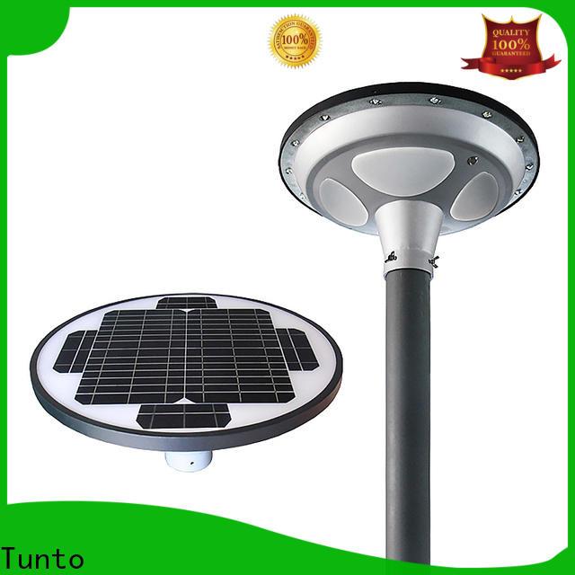 Tunto solar panel garden lights factory for garden