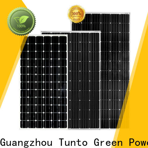 Tunto monocrystalline solar panel personalized for street lamp