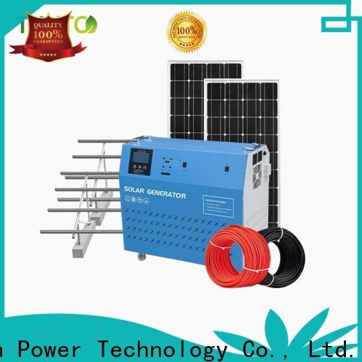 Tunto mini solar generator kit from China for outdoor