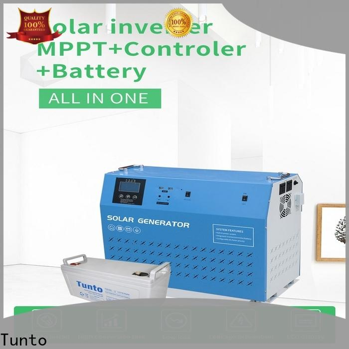 Tunto 3kw off grid solar power systems from China for road
