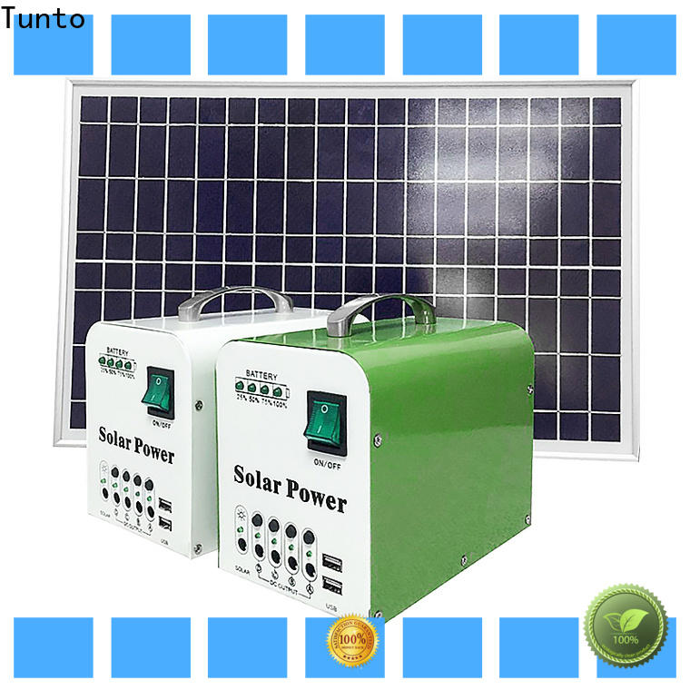 practical portable solar charging system factory for charging