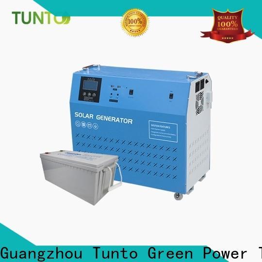 Tunto 5kw solar system special supplier for school