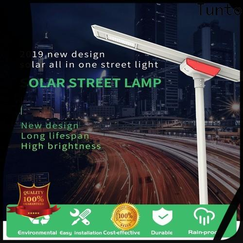 energy saving solar powered outside lights factory price for plaza