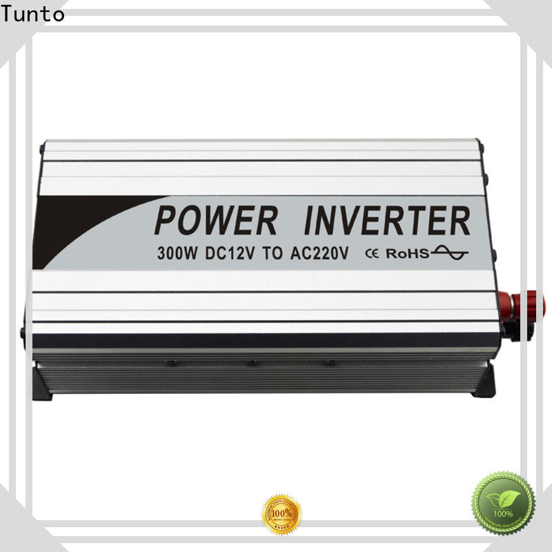 Tunto onboard solar inverter system personalized for street lights