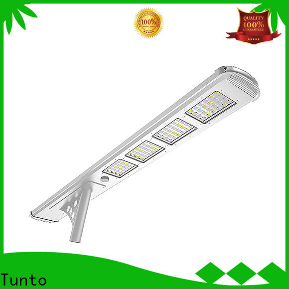 Tunto solar powered parking lot lights supplier for outdoor