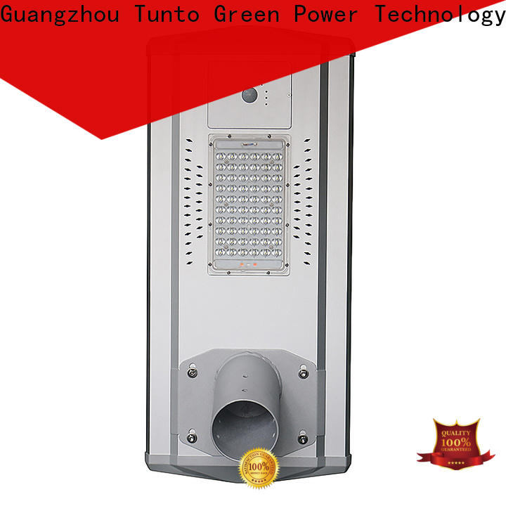 Tunto 60w integrated solar street light factory price for outdoor