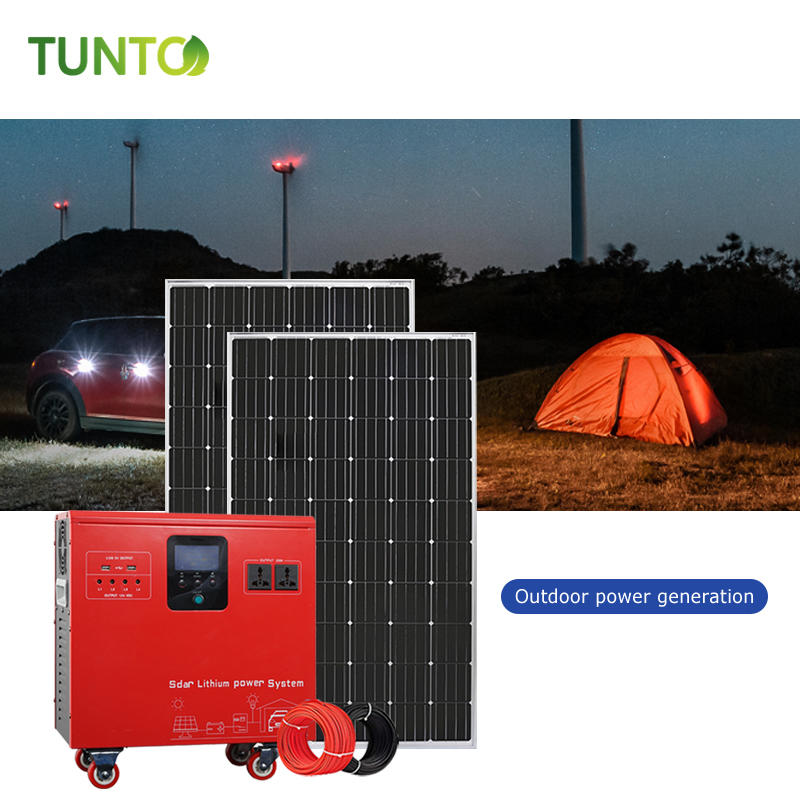 Li-ion battery solar power storage system all in one machine made in china