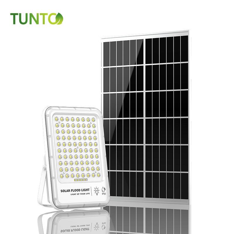 Solar 50W solar power energy light DC light solar flood led light with camera and app wifi control