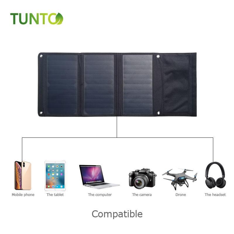 21W SOLAR FOLDING BAG with USB and solar panel 600d oxford fabric handmade