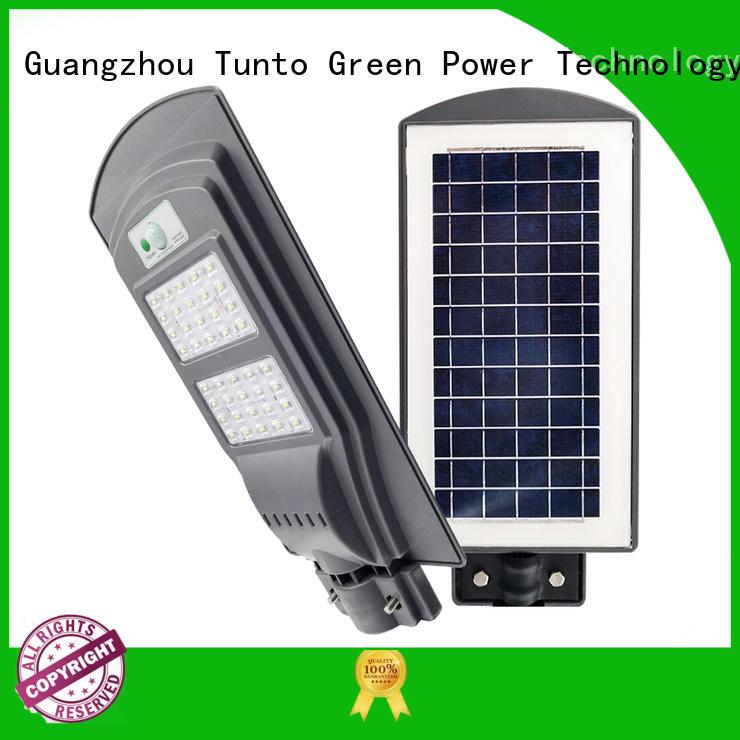 Tunto outdoor solar spot lights factory price for plaza