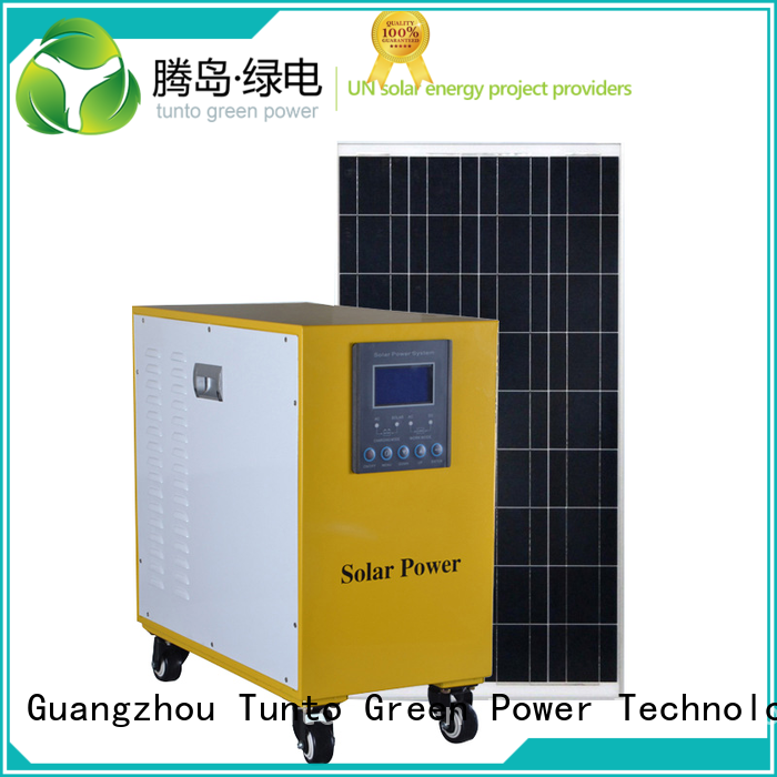 led street light solar system solar home Tunto Brand polycrystalline solar panel