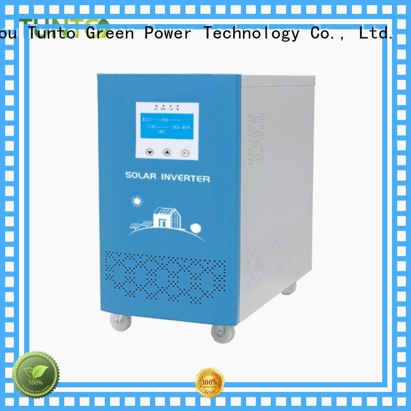 Tunto 5kw portable solar power generator directly sale for street