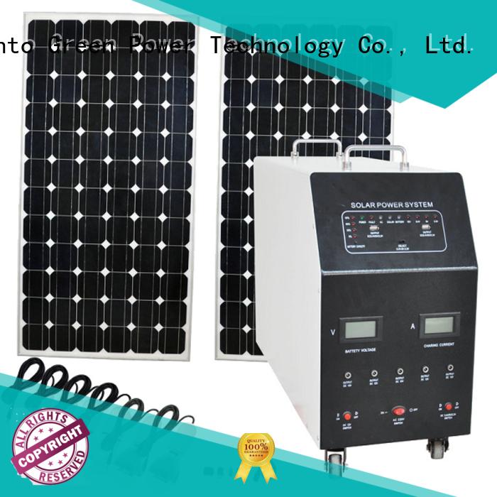 Tunto 3000w multicrystalline solar panels manufacturer for plaza