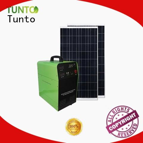 Tunto off grid solar kits series for street