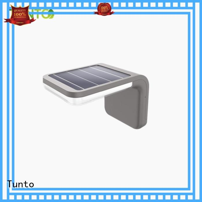 intelligent solar outside lights with sensor factory for plaza