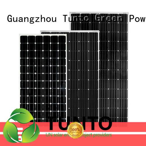 Tunto 200w polycrystalline solar panel personalized for farm