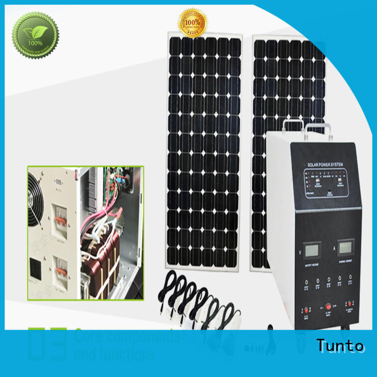 Tunto durable off grid solar inverter series for street