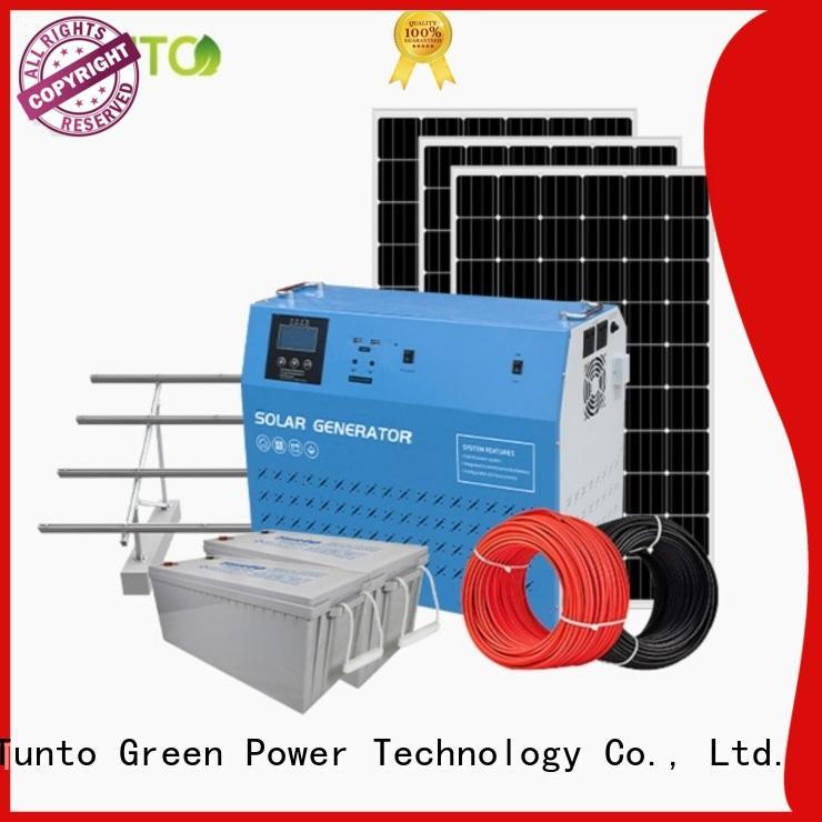 Tunto 5kw monocrystalline solar panel from China for outdoor