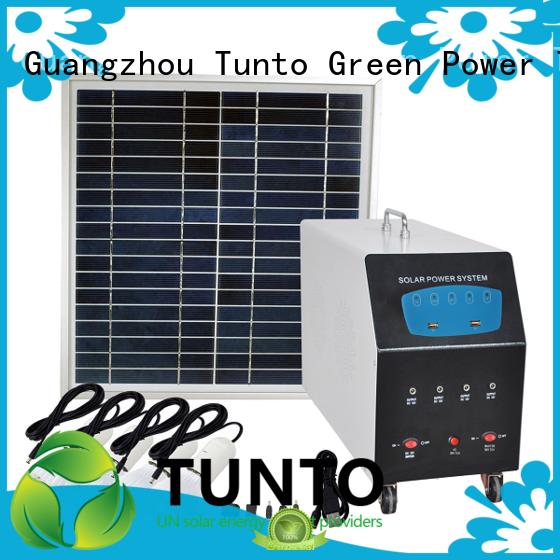 Tunto 5kw monocrystalline solar panel from China for street