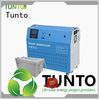 Tunto off grid solar panel kits manufacturer for outdoor