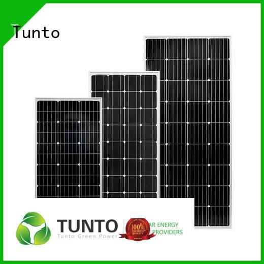 Tunto 150w polycrystalline solar panel personalized for street lamp