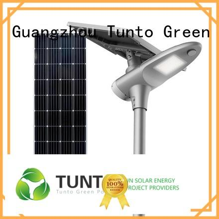 Tunto cool solar street light manufacturer for road
