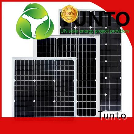monocrystalline discount solar panels supplier for street lamp Tunto