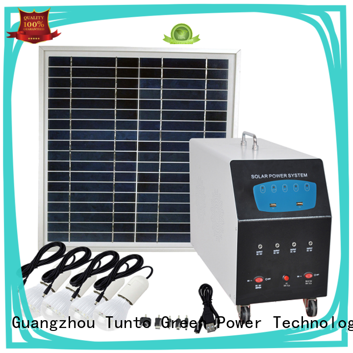 Tunto 3000w off grid power systems directly sale for street