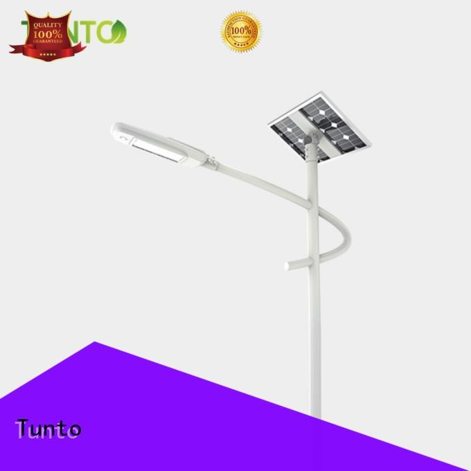 Tunto energy saving solar powered parking lot lights wholesale for outdoor