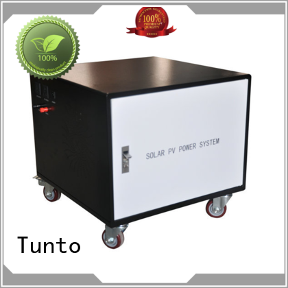 Tunto durable off grid power systems manufacturer for street