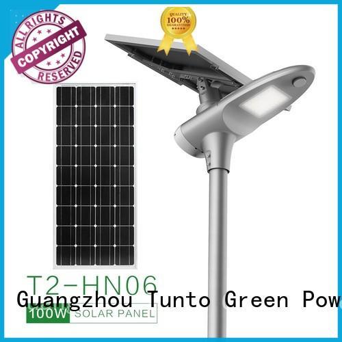 Tunto waterproof integrated led solar street light wholesale for road