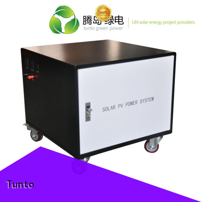 Tunto Brand solar generator led street light solar system system