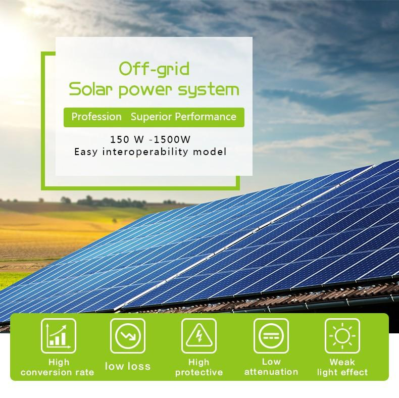 Tunto off grid solar panel kits series for road-1