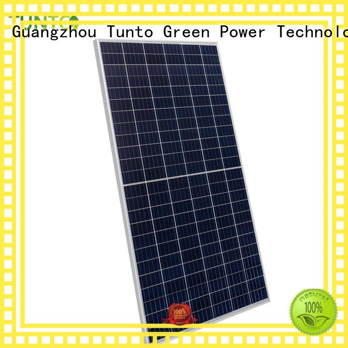 Tunto monocrystalline solar panel supplier for household