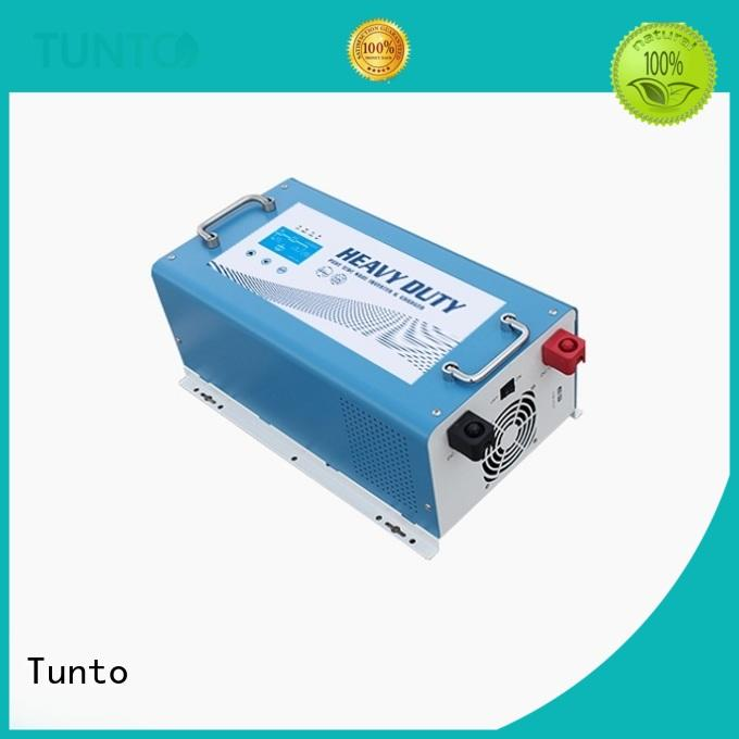 Tunto carborne hybrid solar inverter supplier for lamp