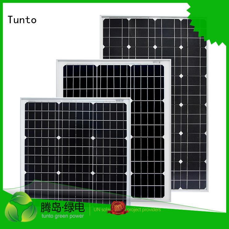 crystalline panel solar polycrystalline solar panel Tunto Brand company