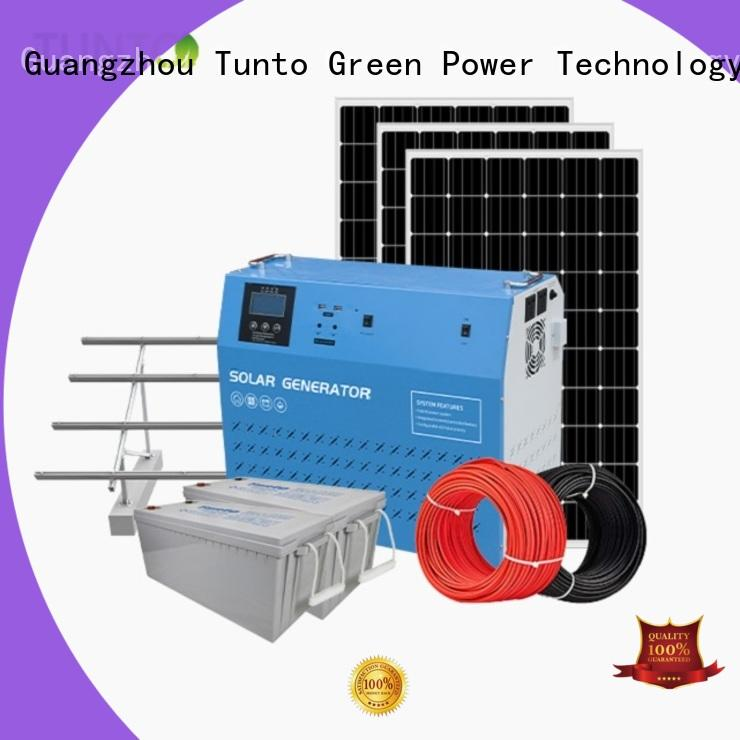 Tunto mini solar generator kit series for street