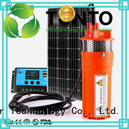 best solar water pump for livestock watering Tunto