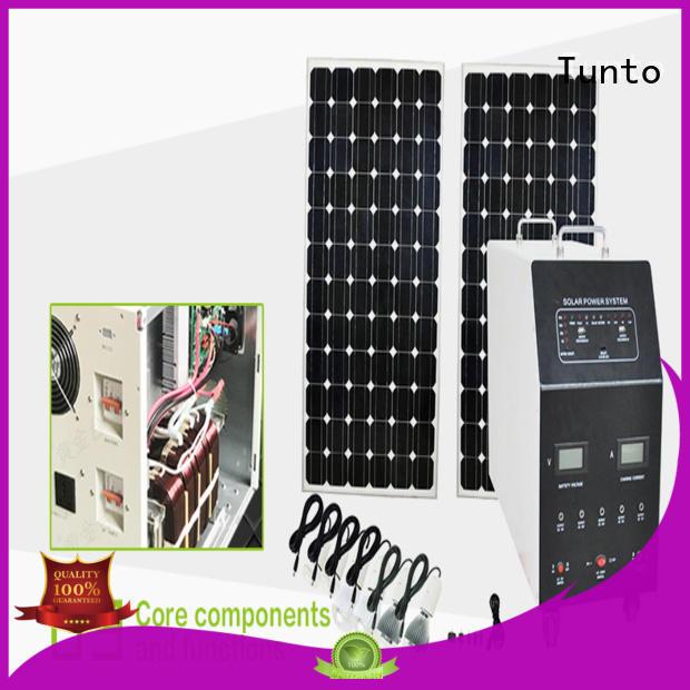 Tunto solar inverter system customized for outdoor