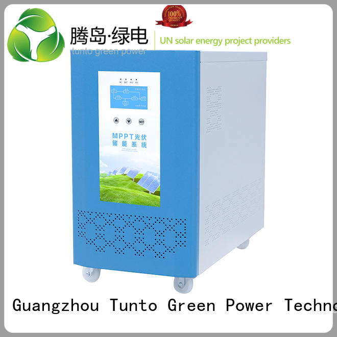 hybrid solar solar panel power inverter inverter Tunto company