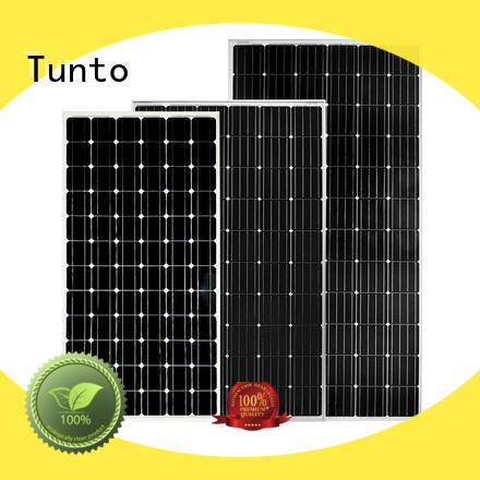 Tunto monocrystalline solar panel supplier for solar plant